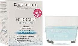 Düfte, Parfümerie und Kosmetik Feuchtigkeitsspendendes Creme-Gel für das Gesicht - Dermedic Hydrain3 Hialuro