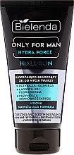 Düfte, Parfümerie und Kosmetik Feuchtigkeitsspendendes Gesichtsreinigungsgel - Bielenda Only For Man Hydra Force Hialuron Face Wash Gel
