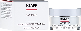 Feuchtigkeitsspendende Gesichtscreme mit Hyaluronsäure - Klapp X-treme Hydra Complete — Bild N1