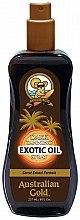 Düfte, Parfümerie und Kosmetik Bräunungsspray-Öl für Körper - Australian Gold Dark Tanning Exotic Oil Spray
