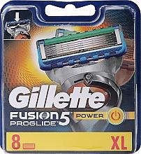 Düfte, Parfümerie und Kosmetik Ersatzklingen 8 St. - Gillette Fusion ProGlide Power