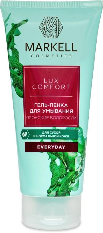 Reinigender Gesichtsgel-Schaum mit japanischen Algen - Markell Cosmetics Lux-Comfort