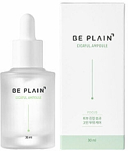 Düfte, Parfümerie und Kosmetik Feuchtigkeitsspendende und regenerierende Gesichtessenz mit Centella Asiatica, Hyaluronsäure und Kamillenextrakt - Be Plain Cicaful Ampoule