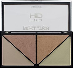 Düfte, Parfümerie und Kosmetik Highlighter-Palette - Makeup Revolution HD Pro Strobe Revolution
