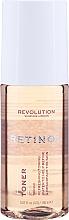 Düfte, Parfümerie und Kosmetik Erfrischender und glättender Gesichtstoner mit Retinol - Revolution Skincare Toner With Retinol