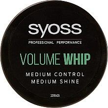 Düfte, Parfümerie und Kosmetik Modellierende Haarcreme Mittlerer Halt - Syoss Volume Whip Forming Cream