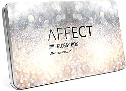 Düfte, Parfümerie und Kosmetik Leere Magnet-Palette - Affect Cosmetics Glossy Box Mini Aluminium Palette