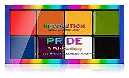 Düfte, Parfümerie und Kosmetik Lidschattenpalette - Makeup Revolution X Pride Express Myself Face Paint Palette