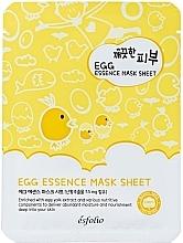 Düfte, Parfümerie und Kosmetik Tuchmaske für das Gesicht mit Eigelb-Extrakt - Esfolio Pure Skin Egg Essence Mask Sheet