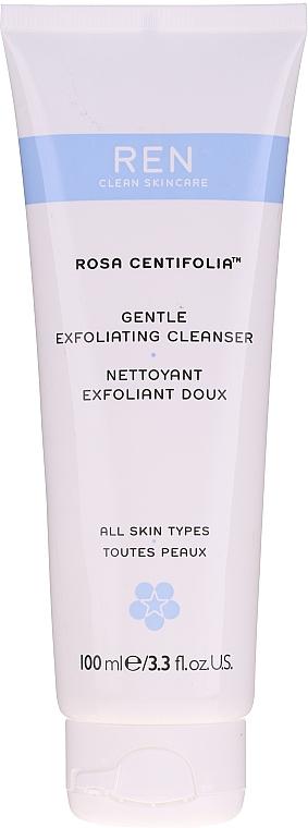 Sanftes Gesichtspeeling für alle Hauttypen - REN Rosa Centifolia Gentle Exfoliating Cleanser — Bild N2