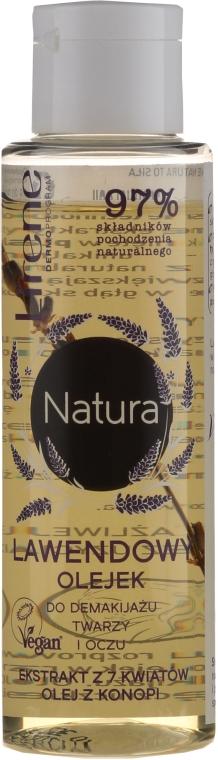 Lavendelöl für Gesicht und Augen zum Abschminken - Lirene Natura Makeup Remover Oil — Bild N1