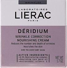 Düfte, Parfümerie und Kosmetik Anti-Falten-Pflegecreme - Lierac Paris Deridium Wrinkle Correction Nourishing Cream