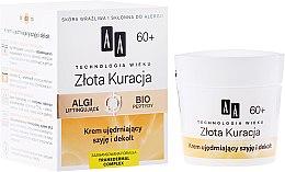 Düfte, Parfümerie und Kosmetik Anti-Falten Tagescreme 60+ - AA Cosmetics Age Technology Golden Revival Cream