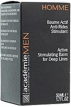 Düfte, Parfümerie und Kosmetik Aktiv-Balsam mit Falten glättender Wirkung für Männer - Academie Homme Balm