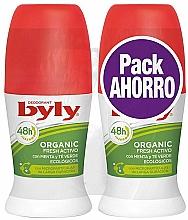 Düfte, Parfümerie und Kosmetik Körperpflegeset - Byly Organic Extra Fresh (Deo Roll-on 2x50ml)