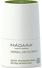 Düfte, Parfümerie und Kosmetik Kräuter-Deodorant - Madara Cosmetics Herbal Deodorant