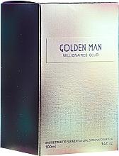 Düfte, Parfümerie und Kosmetik Vittorio Bellucci Golden Man - Eau de Toilette