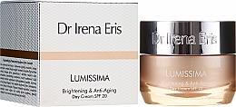 Düfte, Parfümerie und Kosmetik Aufhellende Anti-Aging Tagescreme für das Gesicht SPF 20 - Dr. Irena Eris Lumissima Brightening & Anti-Aging Day Cream SPF 20