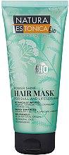 Düfte, Parfümerie und Kosmetik Haarmaske für lebloses und stumpfes Haar mit Jasminöl und Moosbeere - Natura Estonica Power Shine Hair Mask