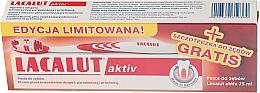 Düfte, Parfümerie und Kosmetik Zahnpflegeset - Lacalut Activ Paradontosis (Zahnpasta 75ml + Zahnbürste 1 St.)