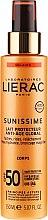 Düfte, Parfümerie und Kosmetik Vitalisierende Anti-Age Sonnenschutzcreme mit Hyaluronsäure LSF 50+ - Lierac Sunissime