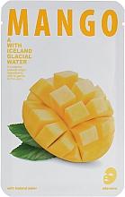 Düfte, Parfümerie und Kosmetik Tuchmaske mit Mangoextrakt - The Iceland Mango Mask