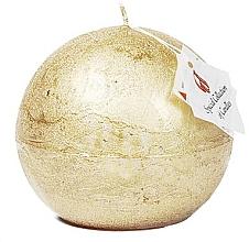 Düfte, Parfümerie und Kosmetik Naturkerze in Kugelform Golden Glow 8 cm - Ringa Golden Glow Candle