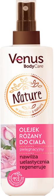 Regenerierendes Rosenöl für den Körper - Venus Nature Rose Body Oil