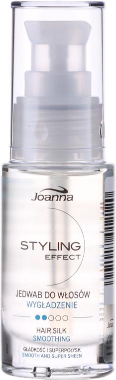 Regenerierende Pflege mit Seide für alle Haartypen - Joanna Styling Effect Hair Silk