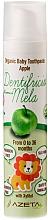 Düfte, Parfümerie und Kosmetik Zahnpasta für Kinder mit Apfelgeschmack - Azeta Bio Organic Baby Toothpaste Apple