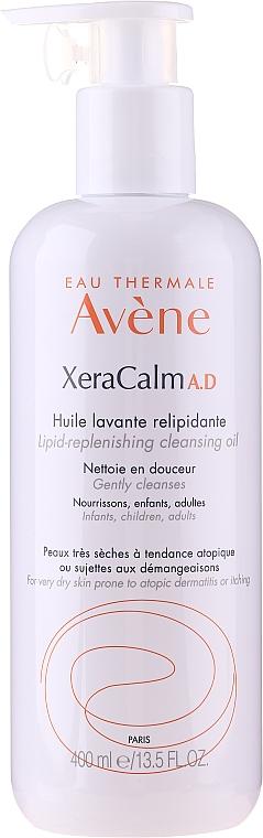Körperreinigungsöl für trockene und zu Neurodermitis neigende Haut mit Lipiden - Avene Peaux Seches XeraCalm