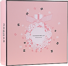 Düfte, Parfümerie und Kosmetik Rochas Mademoiselle Rochas - Duftset (Eau de Parfum 50ml + Körperlotion 50ml + Duschgel 50ml)