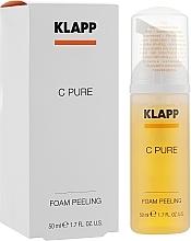 Düfte, Parfümerie und Kosmetik Peelingschaum für das Gesicht - Klapp C Pure Foam Peeling