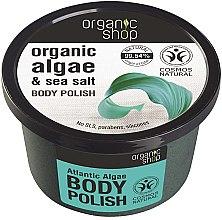 Düfte, Parfümerie und Kosmetik Körperpeeling mit Bio Algenextrakt und Meersalz - Organic Shop Body Scrub Organic Algae & Sea Salt