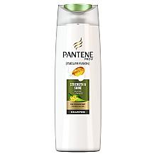 """Düfte, Parfümerie und Kosmetik Shampoo für stumpfes, feines Haar """"Strength & Shine"""" - Pantene Pro-V Nature Fusion Strength & Shine Shampoo"""