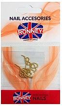Düfte, Parfümerie und Kosmetik Nageldekoration Kette golden 00375 - Ronney Professional