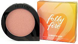 Düfte, Parfümerie und Kosmetik Gesichtsrouge - Folly Fire Illuminating Blush