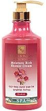 Düfte, Parfümerie und Kosmetik Feuchtigkeitsspendende Duschcreme mit Orchidee - Health And Beauty Moisture Rich Shower Cream
