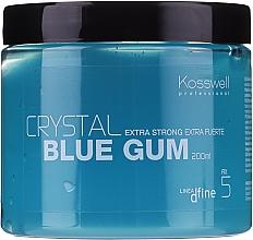 Düfte, Parfümerie und Kosmetik Haarstylinggel Extra starker Halt - Kosswell Professional Dfine Crystal Blue Gum