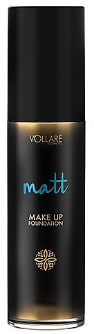 Langanhaltende mattierende Foundation mit Mineralien - Vollare Matt Make-up Foundation