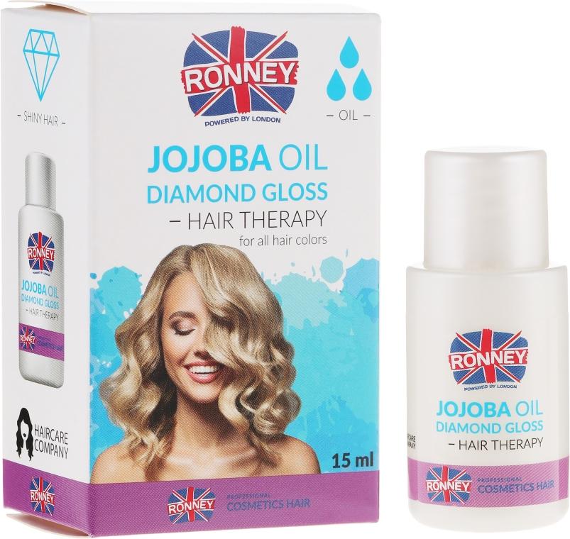 Haaröl für mehr Glanz mit Jojoba - Ronney Jojoba Oil Diamond Gloss Hair Therapy