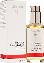 Düfte, Parfümerie und Kosmetik Tonisierendes Körperöl - Dr. Hauschka Blackthorn Toning Body Oil