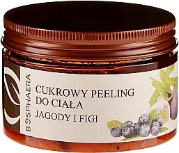 Düfte, Parfümerie und Kosmetik Zuckerpeeling für den Körper mit Beeren und Feigen - Bosphaera