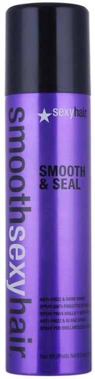 Anti-Frizz Haarspray für mehr Glanz - SexyHair SmoothSexyHair Smooth and Seal Anti-Frizz and Shine Spray — Bild N1