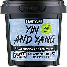 "Düfte, Parfümerie und Kosmetik Shampoo für fettiges Haar ""Yin und Yang"" - Beauty Jar Shampoo For Oily Hair"