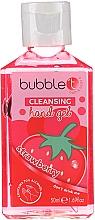 Düfte, Parfümerie und Kosmetik Antibakterielles Handgel Erdbeere - Bubble T Cleansing Hand Gel Strawberry