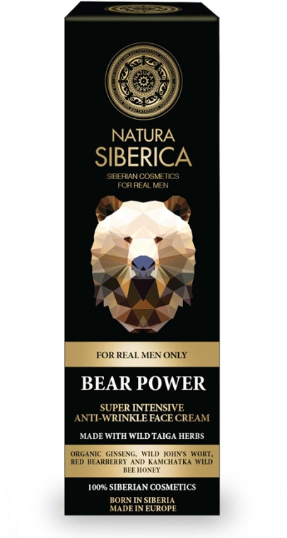 Intensive Anti- Falten Gesichtscreme - Natura Siberica Bear Power Super Intensive Anti-Wrinkle Face Cream — Bild N1