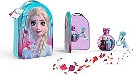Düfte, Parfümerie und Kosmetik Disney Frozen II - Duftset (Eau de Toilette 100ml + Lipgloss 6ml + Kosmetiktasche)