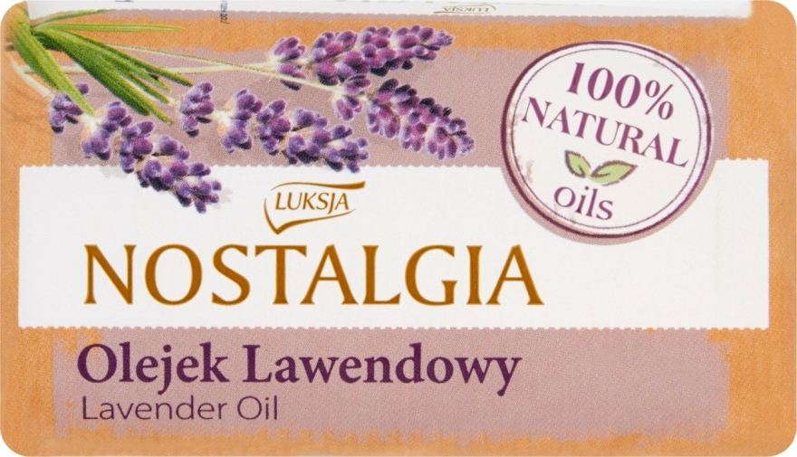 Seife mit Lavendelöl - Luksja Nostalgia Lavender Oil Soap
