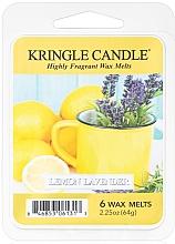 Düfte, Parfümerie und Kosmetik Tart-Duftwachs Zitrone und Lavendel - Kringle Candle Lemon Lavender